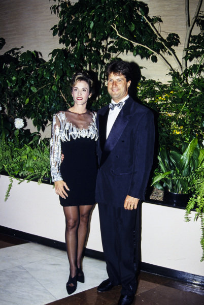 Michael Andretti with his wife Sandra.