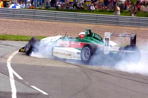 Richard Lietz (AUT) Palfinger F3 Racing.Rd2, Sachsenring Germany. 2 June 2002.