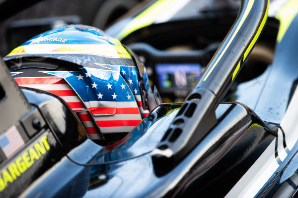 AUTODROMO NAZIONALE MONZA, ITALY - SEPTEMBER 08: Logan Sargeant (USA, Carlin Buzz Racing) during the Monza at Autodromo Nazionale Monza on September 08, 2019 in Autodromo Nazionale Monza, Italy. (Photo by Joe Portlock / LAT Images / FIA F3 Championship)