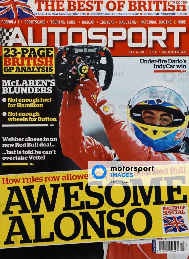 Autosport Covers 2011