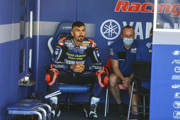Loris Baz, Ten Kate Racing Yamaha.