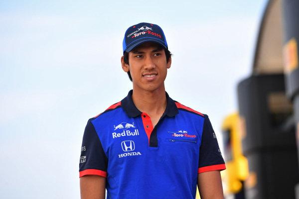 Sean Gelael (INA) Scuderia Toro Rosso