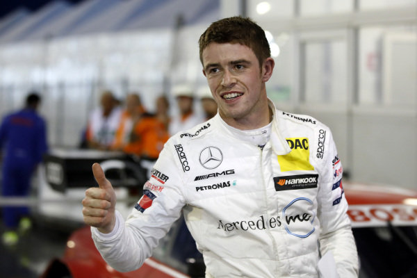 Pole sitter Paul Di Resta, Mercedes-AMG Team HWA