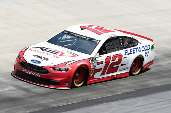 #12: Ryan Blaney, Team Penske, Ford Fusion REV