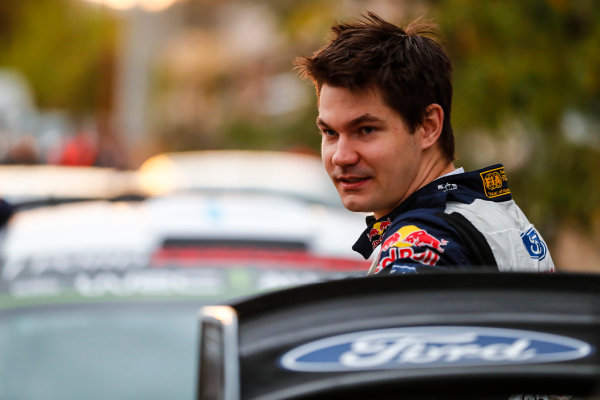 Teemu Suninen gets another chance to shine in a Ford Fiesta WRC on Rally Argentina
