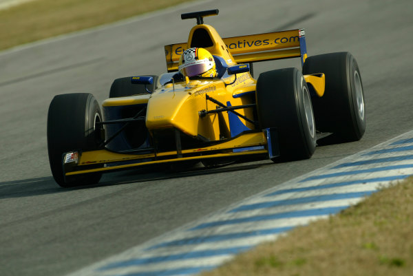 2004 F3000 Testing.