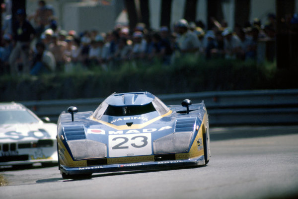 1981 Le Mans 24 HoursLe Mans, France. 13th - 14th June.Chris Craft/Bob Evans (Dome RL80-Ford Cosworth).World Copyright: Murenbeeld/LAT Photographic.