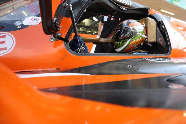 2017 FIA World Endurance Championship Rookie Test, Bahrain International Circuit, Bahrain. 19th November 2017, Mahaveer Raghunathan (IND) G-Drive Racing Oreca 07 - Gibson World Copyright. JEP/LAT Images