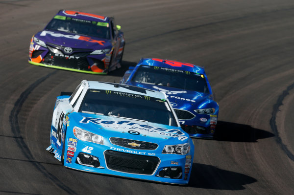 Monster Energy NASCAR Cup Series Can-Am 500 Phoenix Raceway, Avondale, AZ USA Sunday 12 November 2017 Kyle Larson, Chip Ganassi Racing, Refresh Your Car! Chevrolet SS World Copyright: Matthew T. Thacker LAT Images
