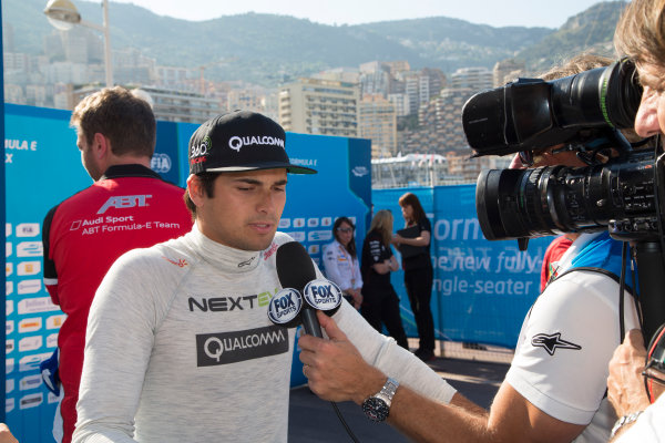 2014/2015 FIA Formula E Championship. Nelson Piquet Jr (BRA)/China Racing - Spark-Renault SRT_01E  Monaco ePrix Race. Monaco ePrix, Monte Carlo, Monaco, Europe. Saturday 9 May 2015  Photo: Adam Warner/LAT/Formula E ref: Digital Image _L5R1533