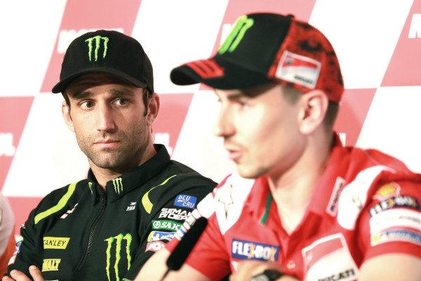 Press Conference, Johann Zarco, Monster Yamaha Tech 3, Jorge Lorenzo, Ducati Team.