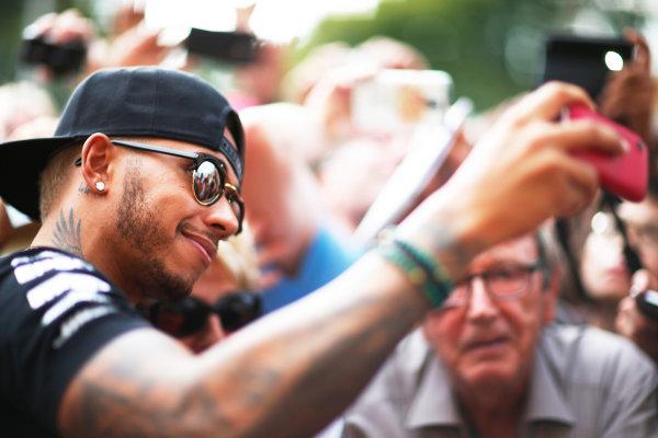 Autodromo Nazionale di Monza, Monza, Italy. Thursday 3 September 2015. Lewis Hamilton, Mercedes AMG. World Copyright: Alastair Staley/LAT Photographic ref: Digital Image _R6T7680