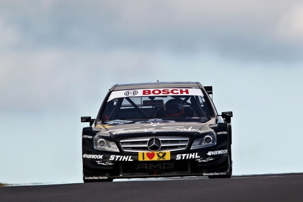Gary Paffett (GBR), Thomas Sabo AMG Mercedes.DTM, Rd2, Zandvoort, The Netherlands, 13-15 May 2011.