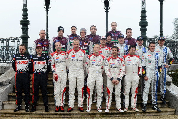 Drivers group photo.