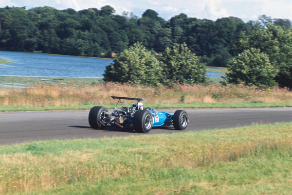 1968 International Gold Cup.  Oulton Park, England. 17th August 1968.  Jackie Stewart, Matra MS10 Ford, 1st position.  Ref: 68GC04. World Copyright: LAT Photographic