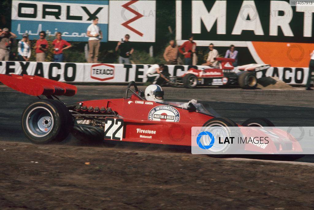 1973 Belgian Grand Prix.  Zolder, Belgium. 18-20th May 1973.  Chris Amon, Tecno PA123B, 6th position.  Ref: 73BEL42. World Copyright: LAT Photographic