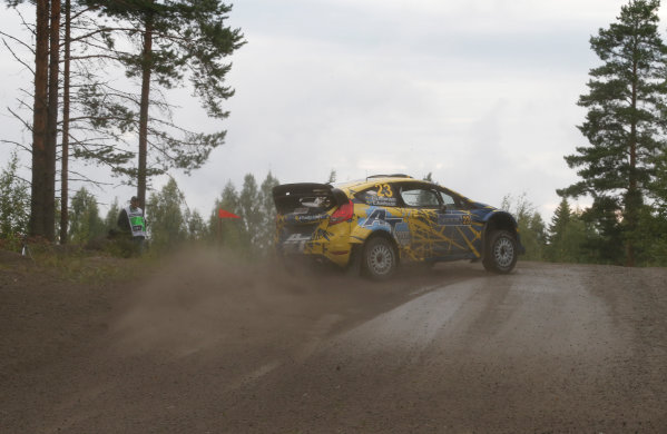 2013 FIA World Rally Championship Round 08-Rally Finland 31/7-3/8 2013. PG Andersson, Ford WRC, Action  Worldwide Copyright: McKlein/LAT