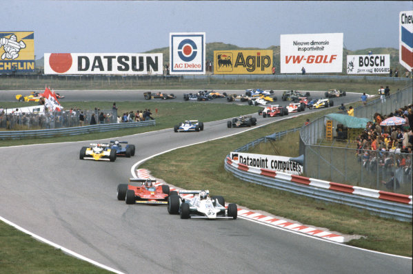 Zandvoort, Holland. 24 - 26 August 1979.