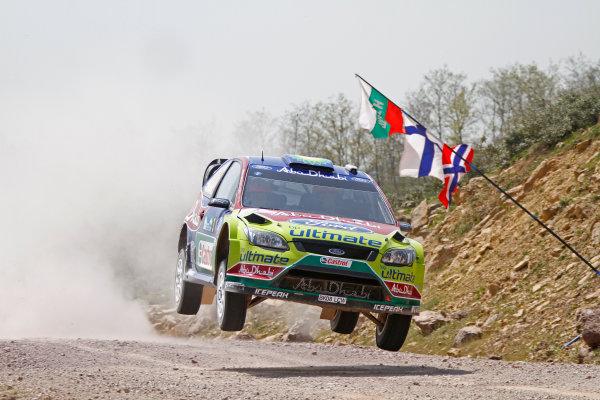 2010 FIA World Rally ChampionshipRound 04Rally of Turkey  15-18 of April 2010Mikko Hirvonen, Ford WRC, ActionWorldwide Copyright: McKlein/LAT