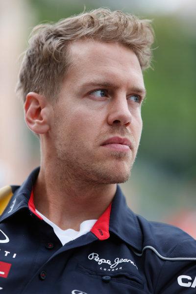 Monte Carlo, Monaco 22nd May 2013 Sebastian Vettel, Red Bull Racing World Copyright: Charles Coates/LAT Photographic ref: Digital Image _N7T0723