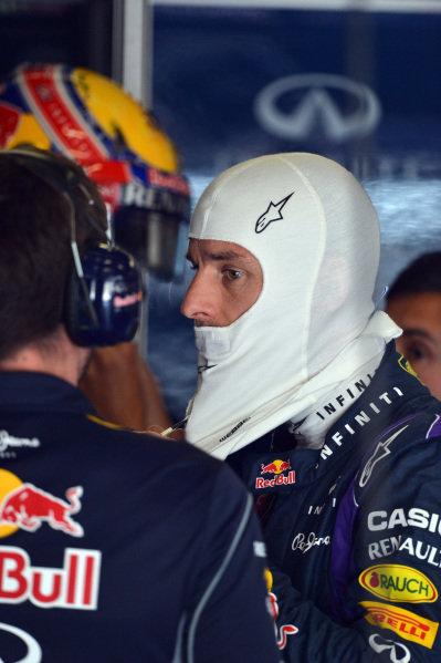 Mark Webber (AUS) Red Bull Racing. Formula One World Championship, Rd9, German Grand Prix, Qualifying, Nurburgring, Germany, Saturday 6 July 2013.