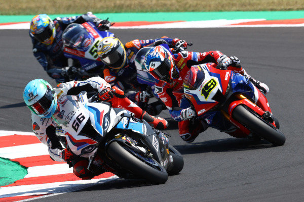 Tom Sykes, BMW Motorrad WorldSBK Team, Alvaro Bautista, Team HRC.