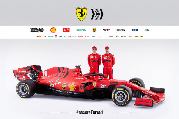 The Ferrari SF1000 is launched. Charles Leclerc, Ferrari, and Sebastian Vettel, Ferrari NOTE TO EDITORS: COPYRIGHT FERRARI, EDITORIAL USE ONLY