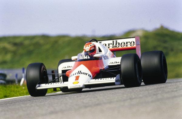 Niki Lauda, McLaren MP4-2B TAG.