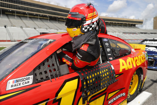 Ryan Blaney, Team Penske Ford Advance Auto Parts, Copyright: Chris Graythen/Getty Images.