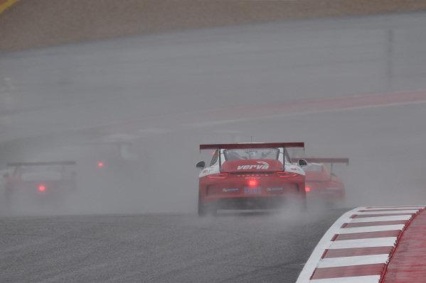 Kuba Giermaziak (POL) VERVA Lechner Racing Team at Porsche Supercup, Rd8, Austin, Texas, USA, 23-25 October 2015.