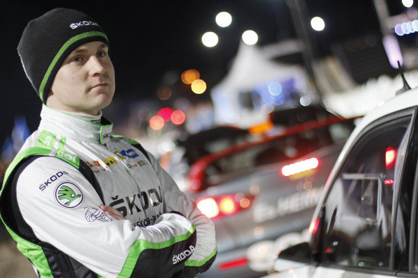 Esapekka Lappi (FIN), Skoda Motorsport WRC2 at World Rally Championship, Rd2, Rally Sweden, Preparations, Karlstad, Sweden, 11 February 2016.
