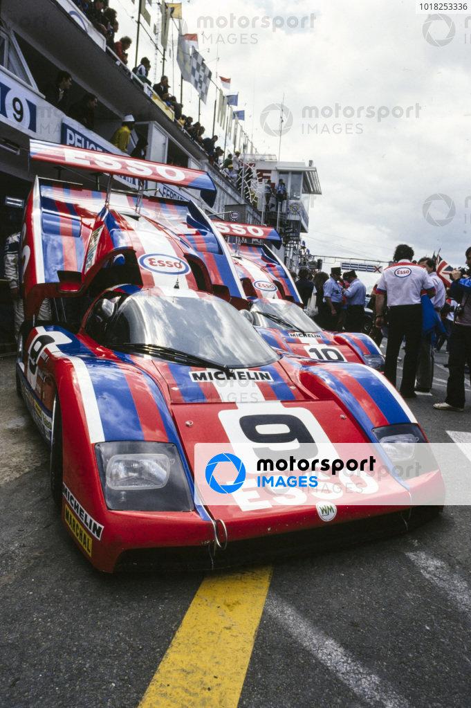 Michel Pignard / Jean-Daniel Raulet / Didier Theys, Esso, WM P82.
