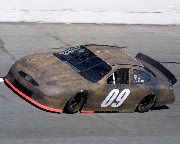 2002 NASCAR Cup TestingDaytona, Florida, USA. 8th January 2002.Geoffrey Bodine, fastest Ford, faster than both Rush cars, action.World Copyright: Greg Aleck/LAT Photographicref: Digital Image Only