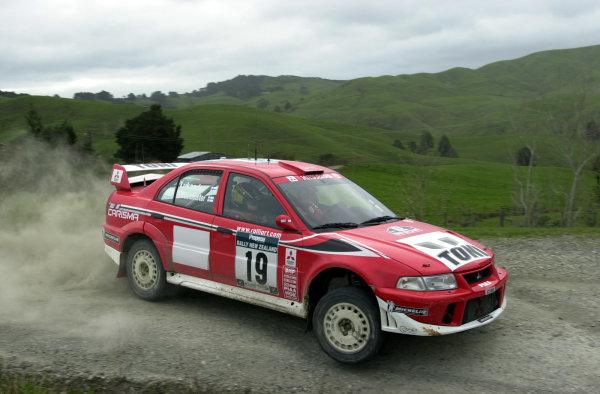 2001 World Rally Championship.Rally of New Zealand. September 20-23, 2001.Auckland, New Zealand.Toni Gardemeister during shakedown.Photo: Ralph Hardwick/LAT