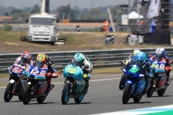 Dennis Foggia, Sky Racing Team VR46, Fabio Di Giannantonio, Del Conca Gresini Racing Moto3, Lorenzo Dalla Porta, Leopard Racing.