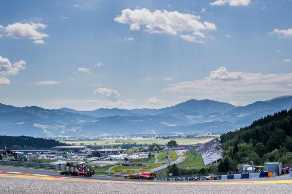 2017 FIA Formula 2 Round 5. Red Bull Ring, Spielberg, Austria. Friday 7 July 2017. Alexander Albon (THA, ART Grand Prix).  Photo: Zak Mauger/FIA Formula 2. ref: Digital Image _56I0505