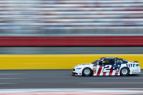 Monster Energy NASCAR Cup Series Coca-Cola 600 Charlotte Motor Speedway, Concord, NC USA Thursday 25 May 2017 Brad Keselowski, Team Penske, Miller Lite Ford Fusion World Copyright: Matthew T. Thacker LAT Images ref: Digital Image 17CLT2mt1174