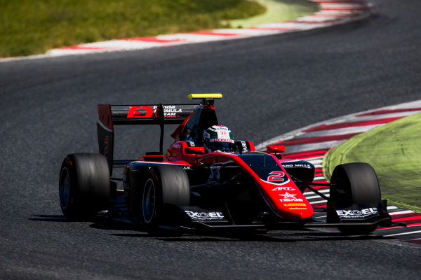 2016 GP3 Series Test 2. Circuit de Catalunya, Barcelona, Spain. Thursday 20 April 2017. Nirei Fukuzumi (JPN, ART Grand Prix)  Photo: Zak Mauger/GP3 Series Media Service. ref: Digital Image _56I5461