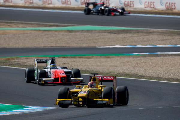 2017 FIA Formula 2 Round 10. Circuito de Jerez, Jerez, Spain. Sunday 8 October 2017. Norman Nato (FRA, Pertamina Arden).  Photo: Zak Mauger/FIA Formula 2. ref: Digital Image _56I7802
