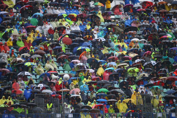 2017 Moto2 Championship - Round 13 Misano, Italy. Sunday 10 September 2017 Crowd World Copyright: Gold and Goose / LAT Images ref: Digital Image 8200