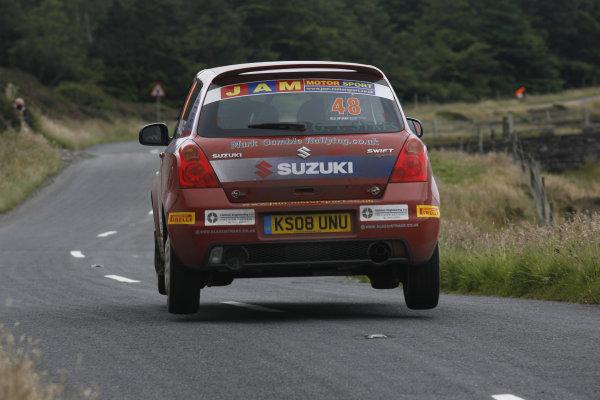 Manx International Rally 2008, 17th-19th July 2008Mark Gamble/Stephen Link  Suzuki SwiftWorld Copyright: Ebrey/LAT Photographic