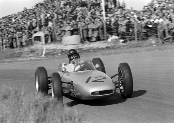Dan Gurney (USA) Porsche 804 retired with gearbox problems.
