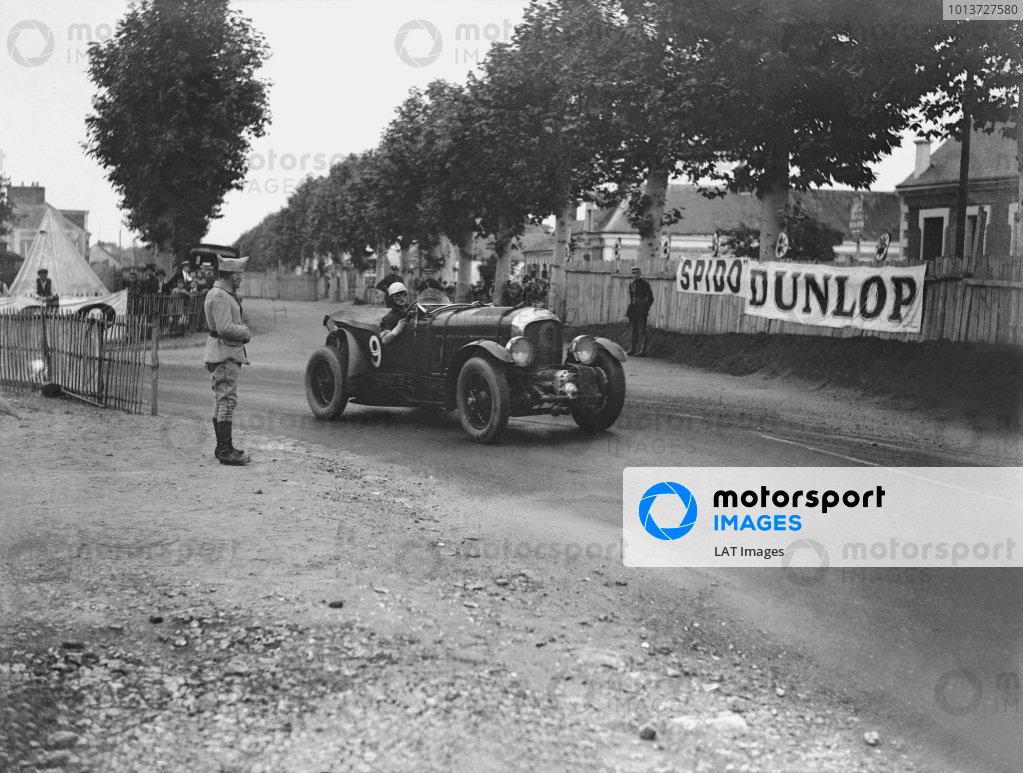 Le Mans, France. 21st - 22nd June 1930.Henry Birkin/Jean Chassagne (Bentley C