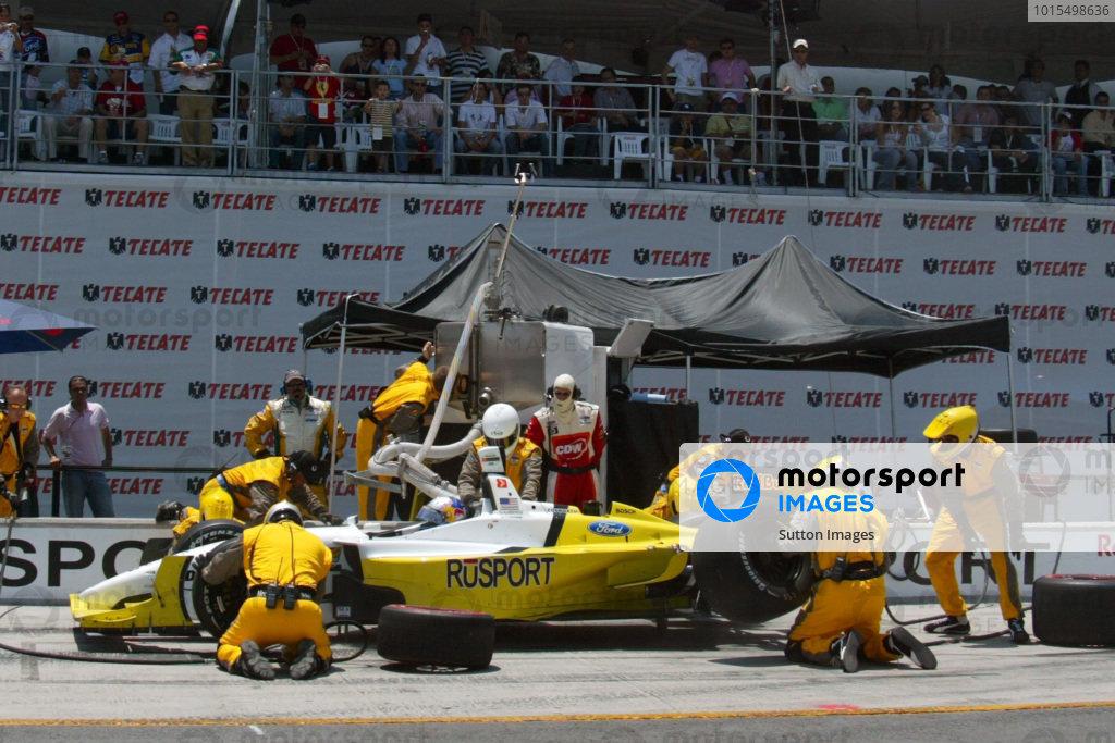 A.J Allmendinger (USA) RuSPORT Champ Car World Series, Rd3, Tecate Grand Prix, Fundidora Park, Monterrey, Mexico, 19-21 May 2006. DIGITAL IMAGE