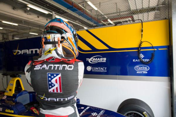 2016 GP3 Series Testing.  Spielberg, Austria. Red Bull Ring,  Wednesday 8th June 2016 . Santino Ferrucci (USA, Dams).  Photo: Alastair Staley/GP3 Media Service  ref: 585A9240