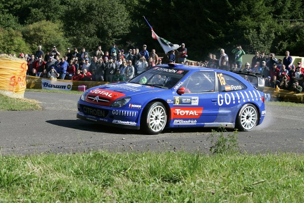 2006 FIA World Rally Champs. Round elevenDeutschland Rally.9th- 13th August 2006.Xavier Pons, Citroen, action.World Copyright: McKlein/LAT