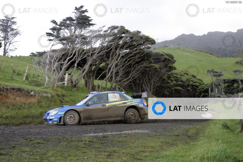 2006 FIA World Rally Champs. Round 6Rally New Zealand, 16-19th November 2006Petter Solberg, Subaru, actionWorld Copyright: McKlein/LAT