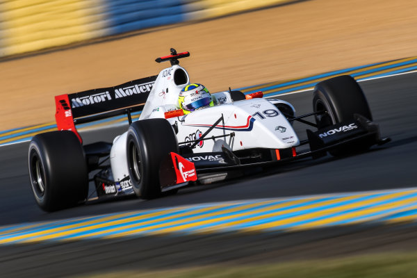Le Mans (FRA) SEPT 25-27 2015 - World Series by Renault 2015 at the Bugatti circuit of Le Mans. Andre Negrao #19 International Draco Racing. Action. © 2015 Diederik van der Laan  / Dutch Photo Agency / LAT Photographic