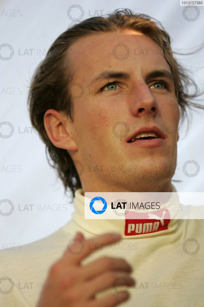 2008 GP2 Asia Series. Testing.Dubai. Dubai Autodrome. 20th January.Yelmer Buurman (NED, Trust Team Arden). Portrait. World Copyright: Alastair Staley/GP2 Series Media Serviceref: _MG_2266