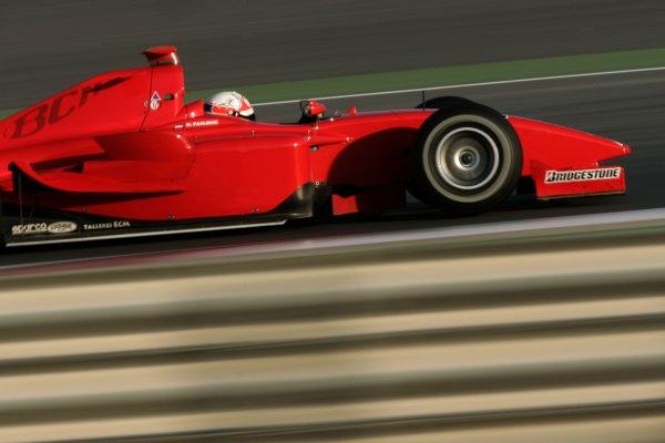 2008 GP2 Asia Series. Testing.Dubai. Dubai Autodrome. 20th January.Milos Pavlovic, (YU, BCN Competicion). Action. World Copyright: Alastair Staley/GP2 Series Media Serviceref: _MG_2164